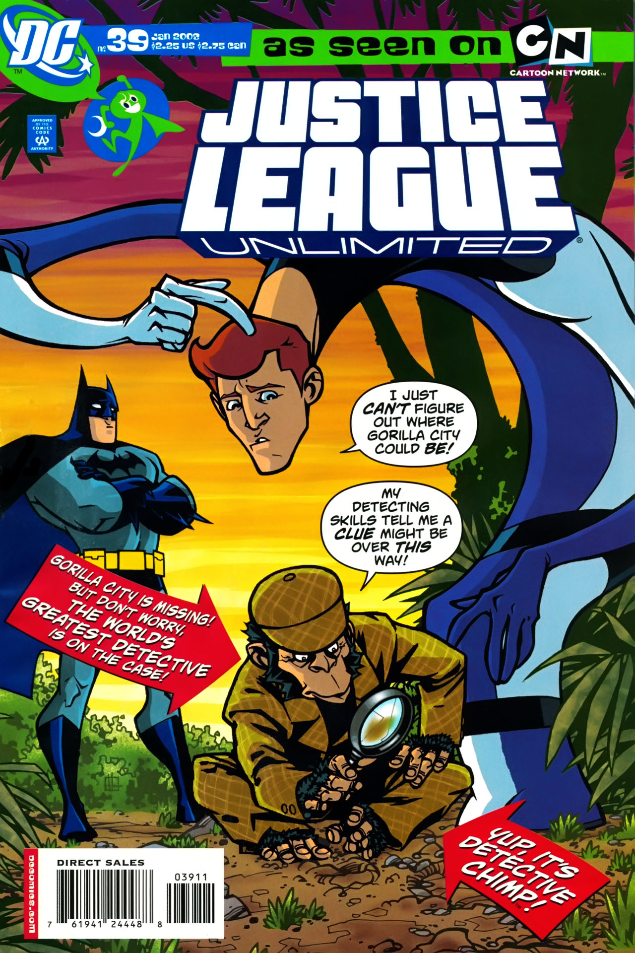 Justice League Unlimited 39 Page 1