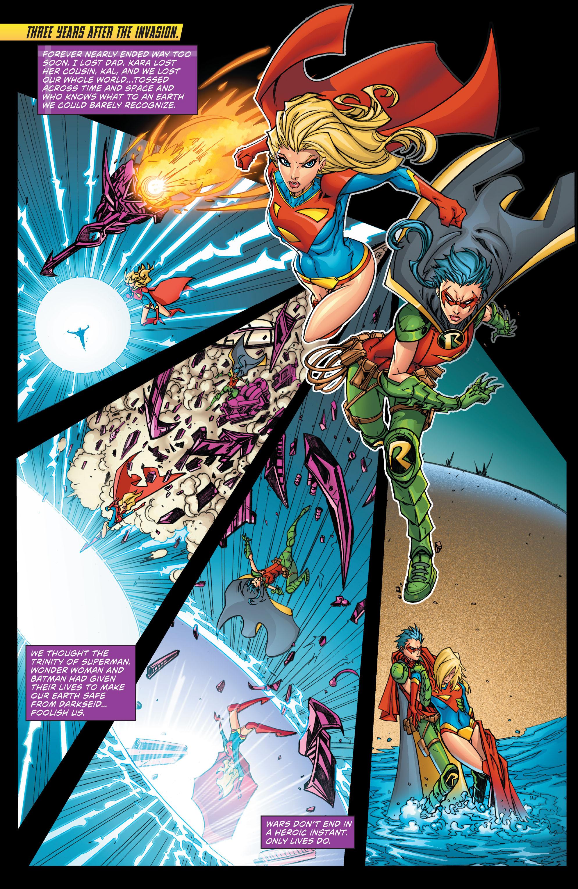 Read online Secret Origins (2014) comic -  Issue #7 - 22