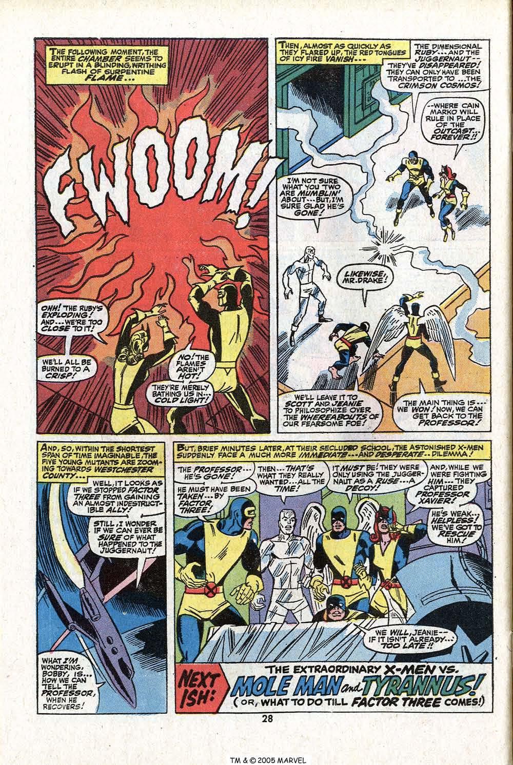 Read online Uncanny X-Men (1963) comic -  Issue #81 - 30