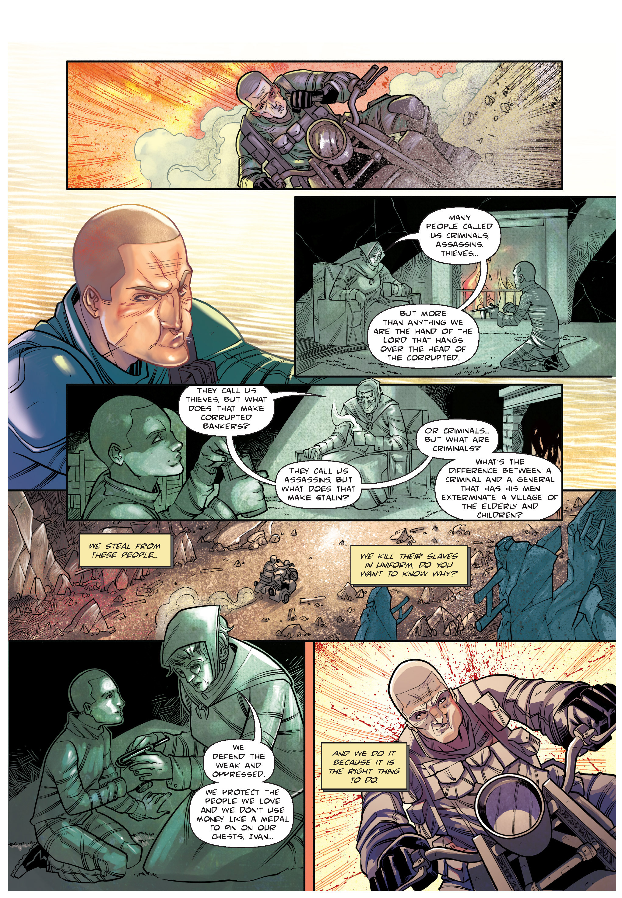 Read online The Shadow of a Terrible Thing comic -  Issue # TPB - 102