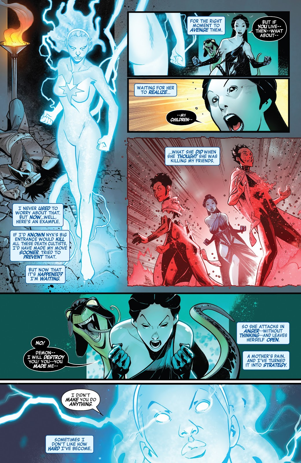 Read online Avengers No Road Home comic -  Issue #7 - 6