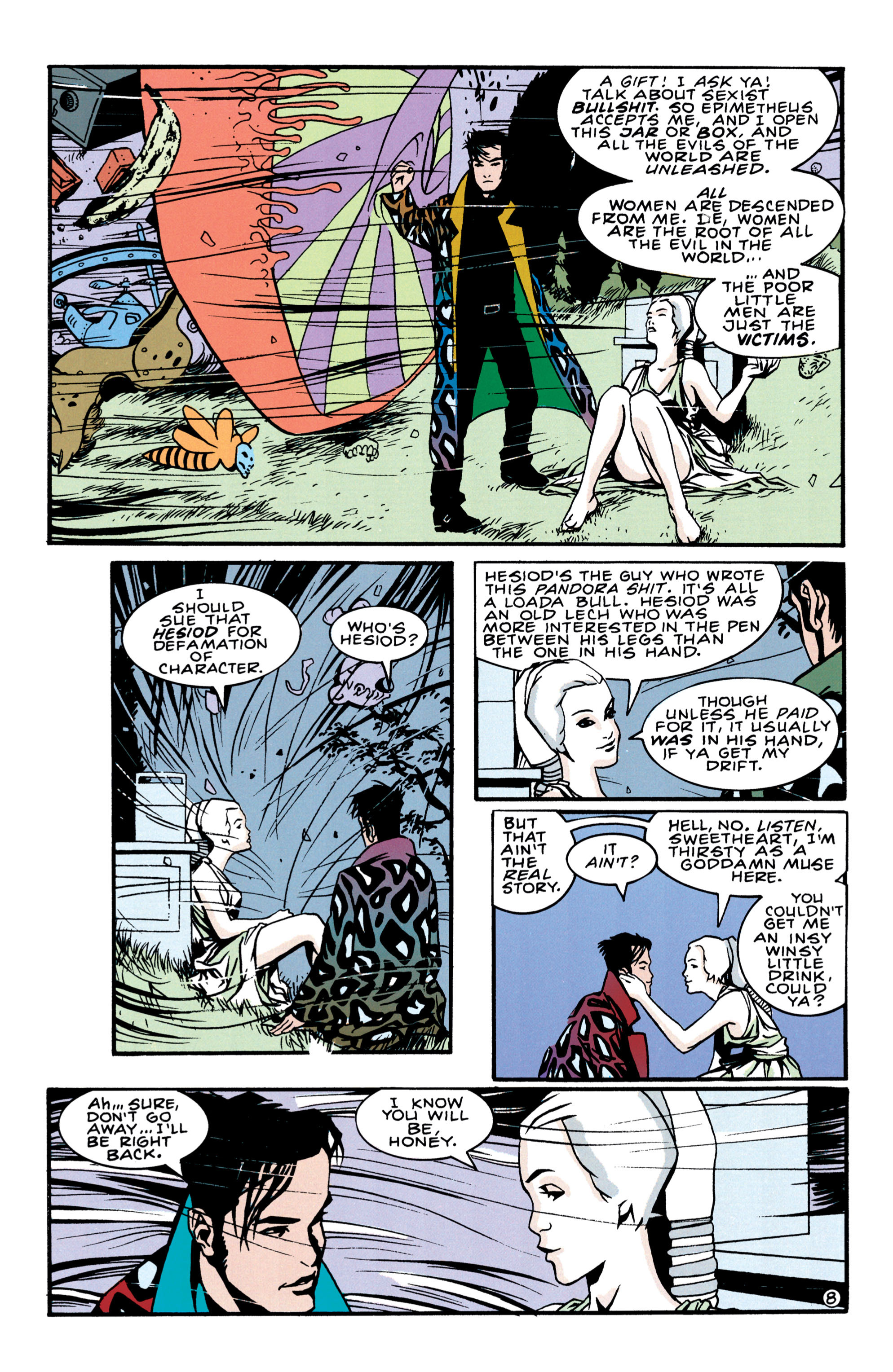 Read online Shade, the Changing Man comic -  Issue #41 - 9