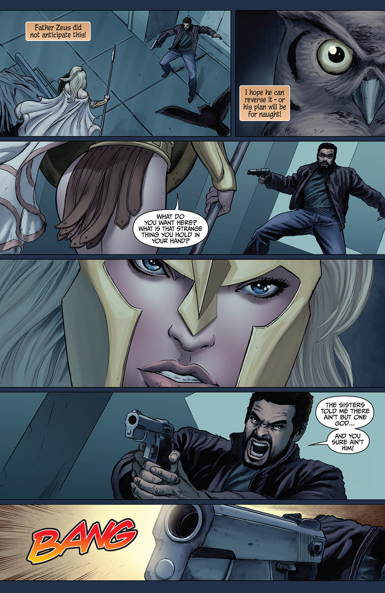 Read online Athena comic -  Issue #2 - 7