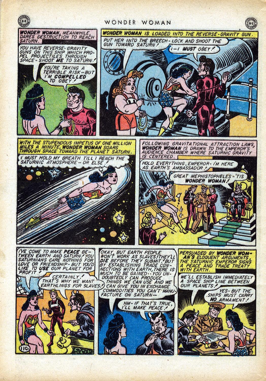 Read online Wonder Woman (1942) comic -  Issue #10 - 49