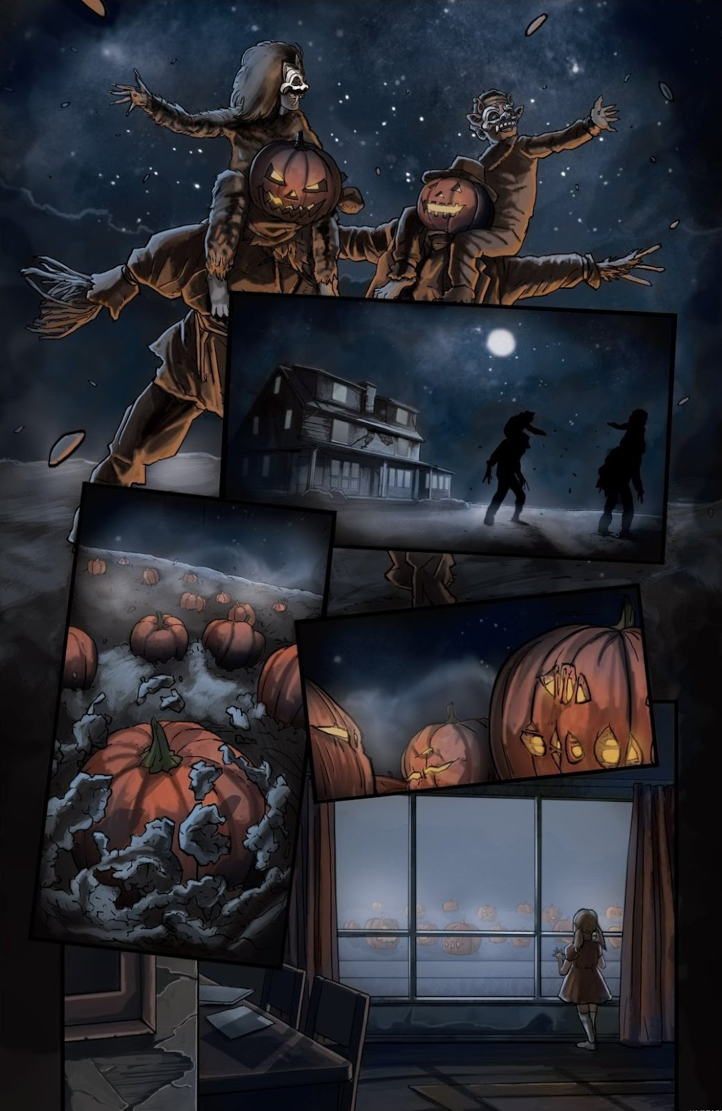 Read online Trick 'r Treat: Days of the Dead comic -  Issue # TPB - 121