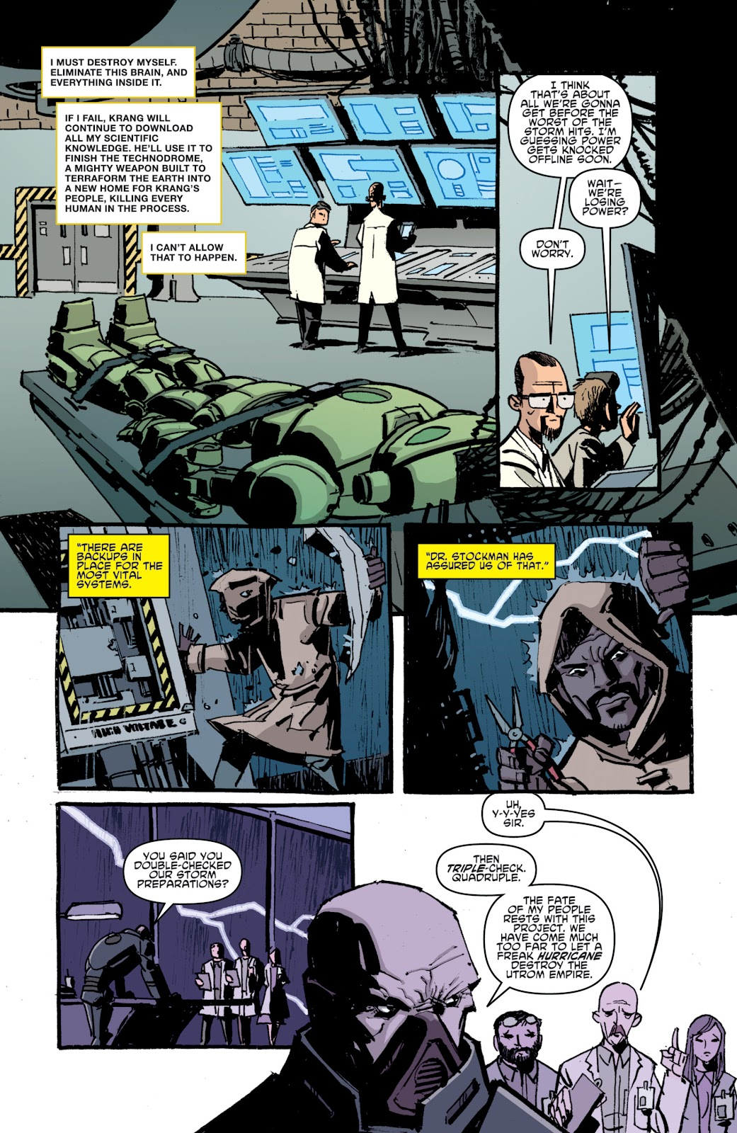 Read online Teenage Mutant Ninja Turtles: The IDW Collection comic -  Issue # TPB 4 (Part 1) - 32