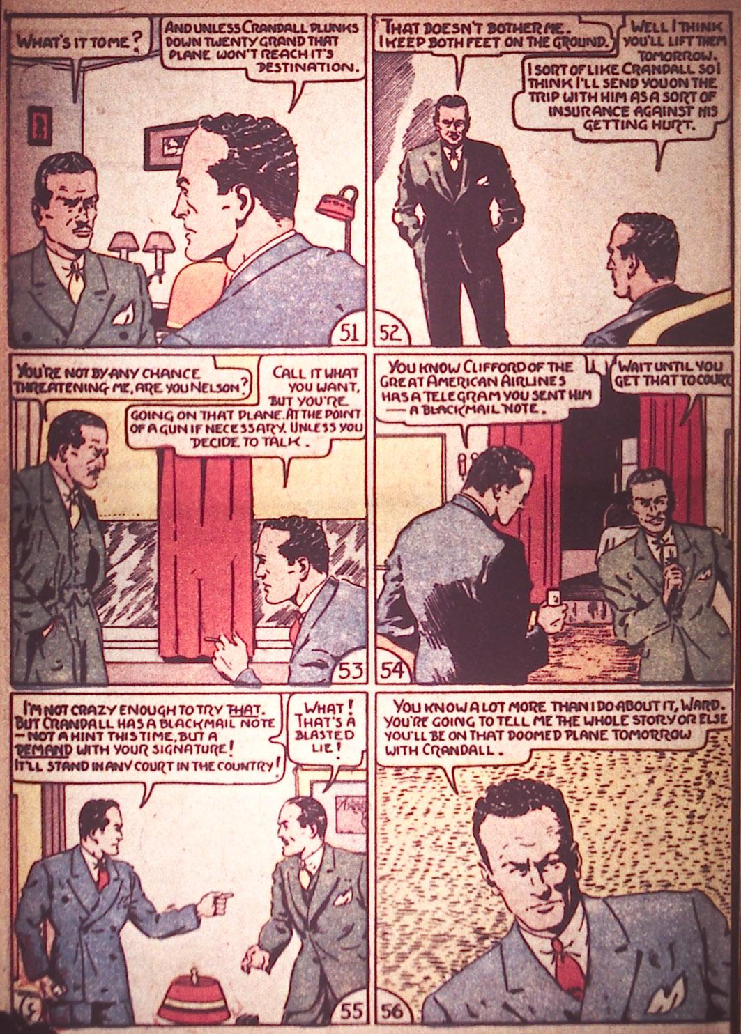 Read online Detective Comics (1937) comic -  Issue #12 - 32