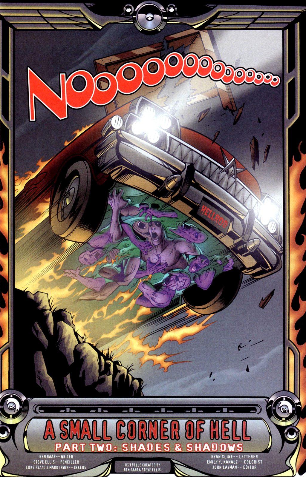 Read online Jezebelle comic -  Issue #2 - 4