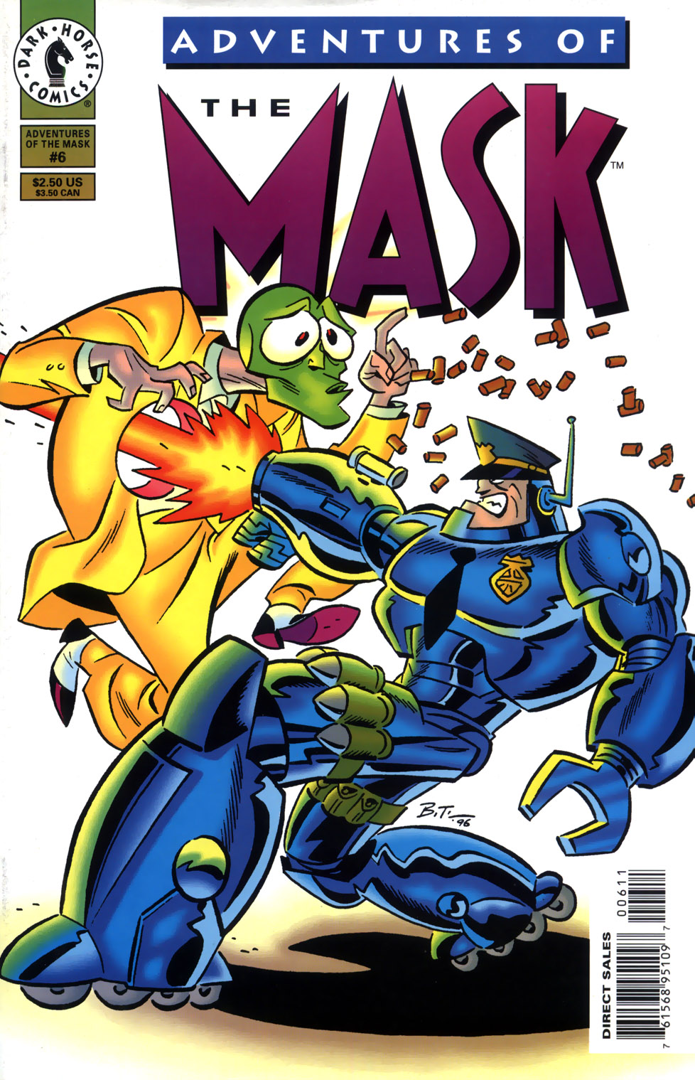 Read online Adventures Of The Mask comic -  Issue #6 - 1