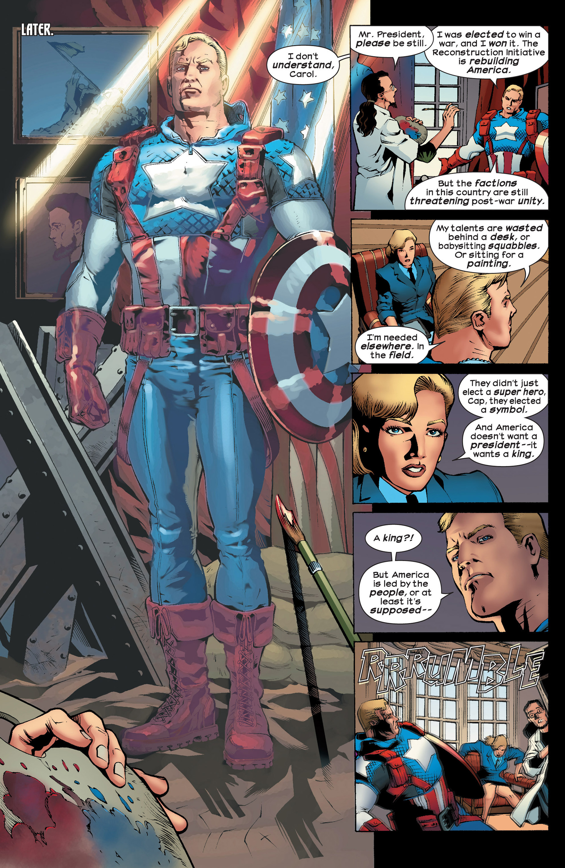 Read online Ultimate Comics Ultimates comic -  Issue #23 - 6