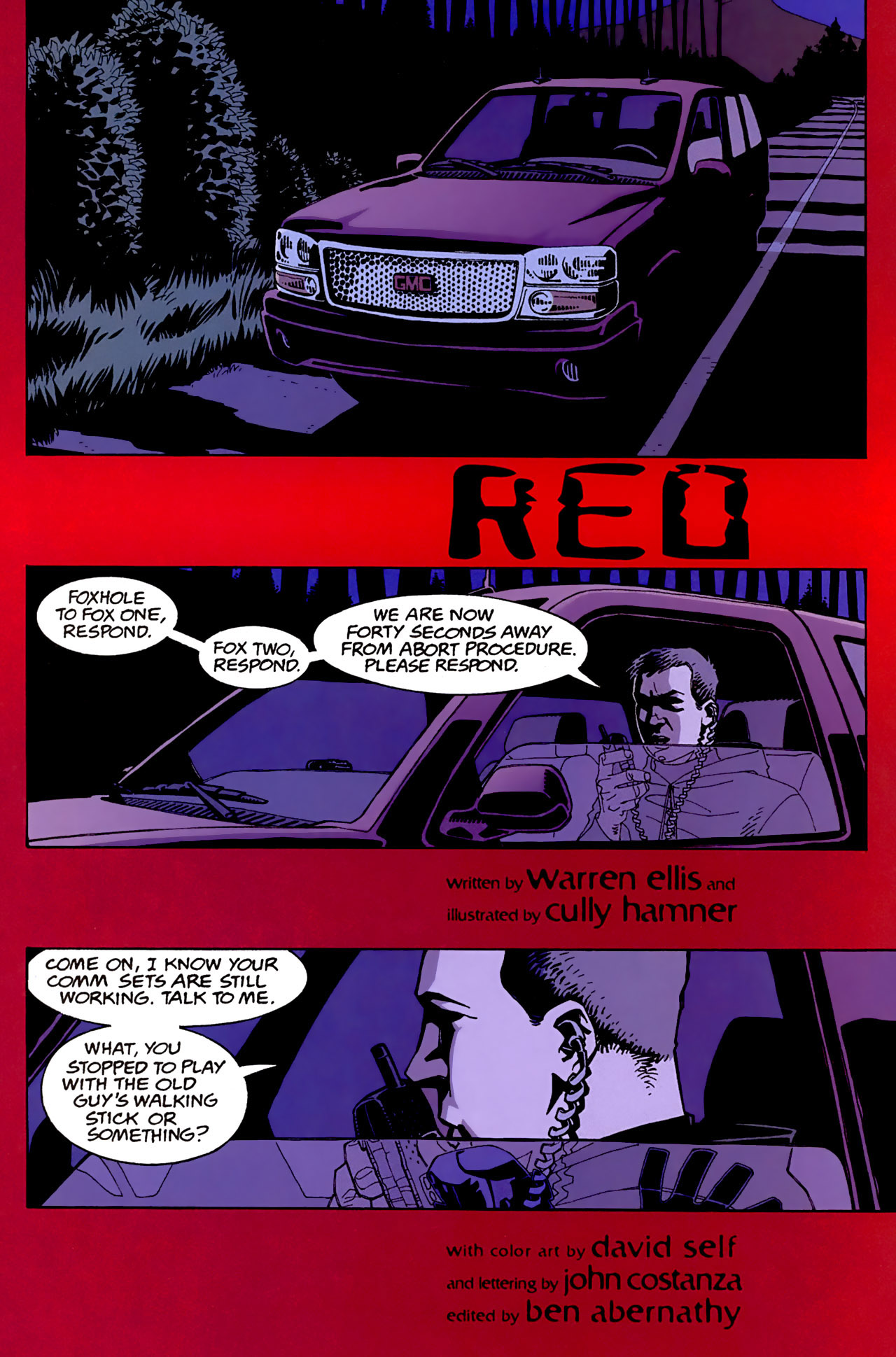 Read online Red comic -  Issue #2 - 2
