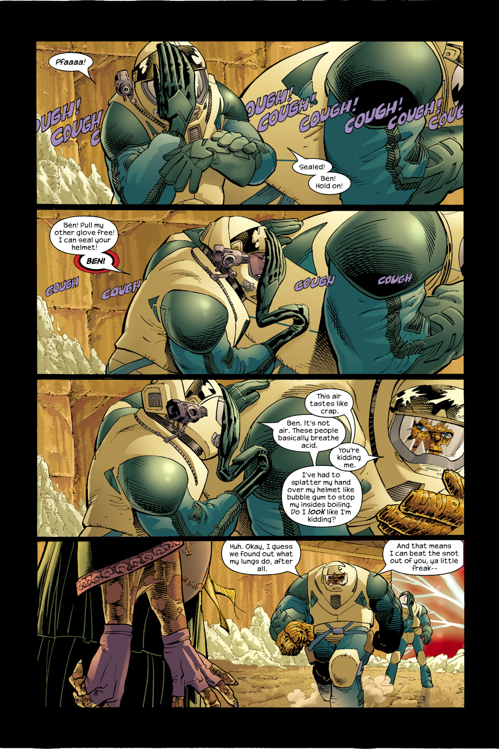 Read online Ultimate Fantastic Four (2004) comic -  Issue #17 - 4