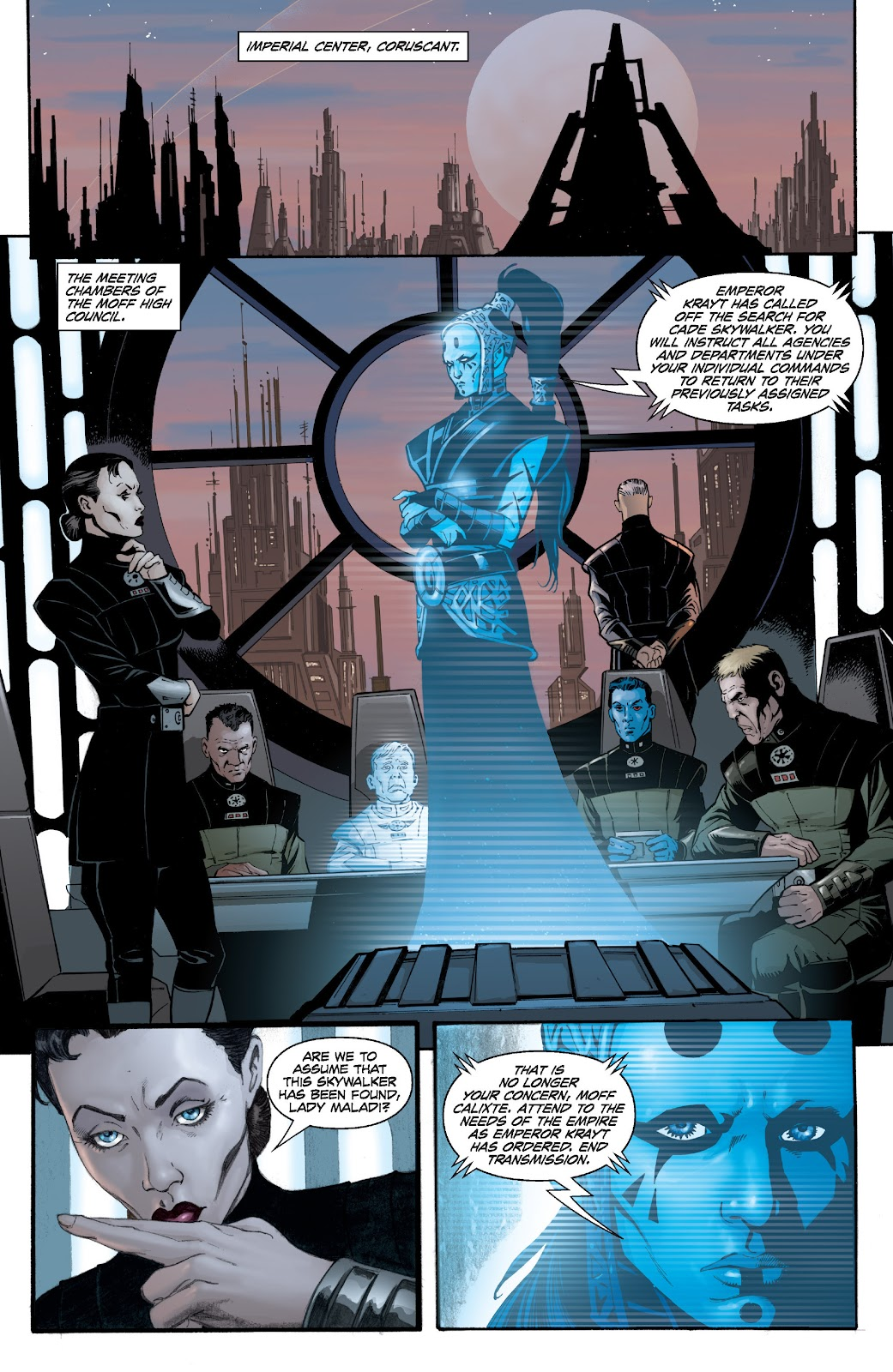 Read online Star Wars Legends: Legacy - Epic Collection comic -  Issue # TPB 1 (Part 4) - 45