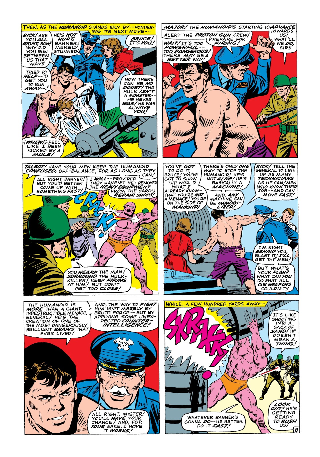 Read online Marvel Masterworks: The Incredible Hulk comic -  Issue # TPB 3 (Part 1) - 92