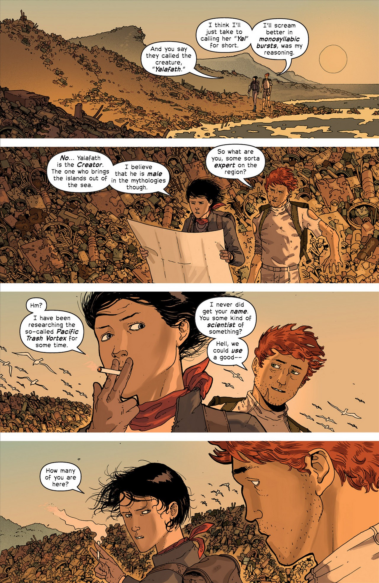 Read online Great Pacific comic -  Issue #4 - 10