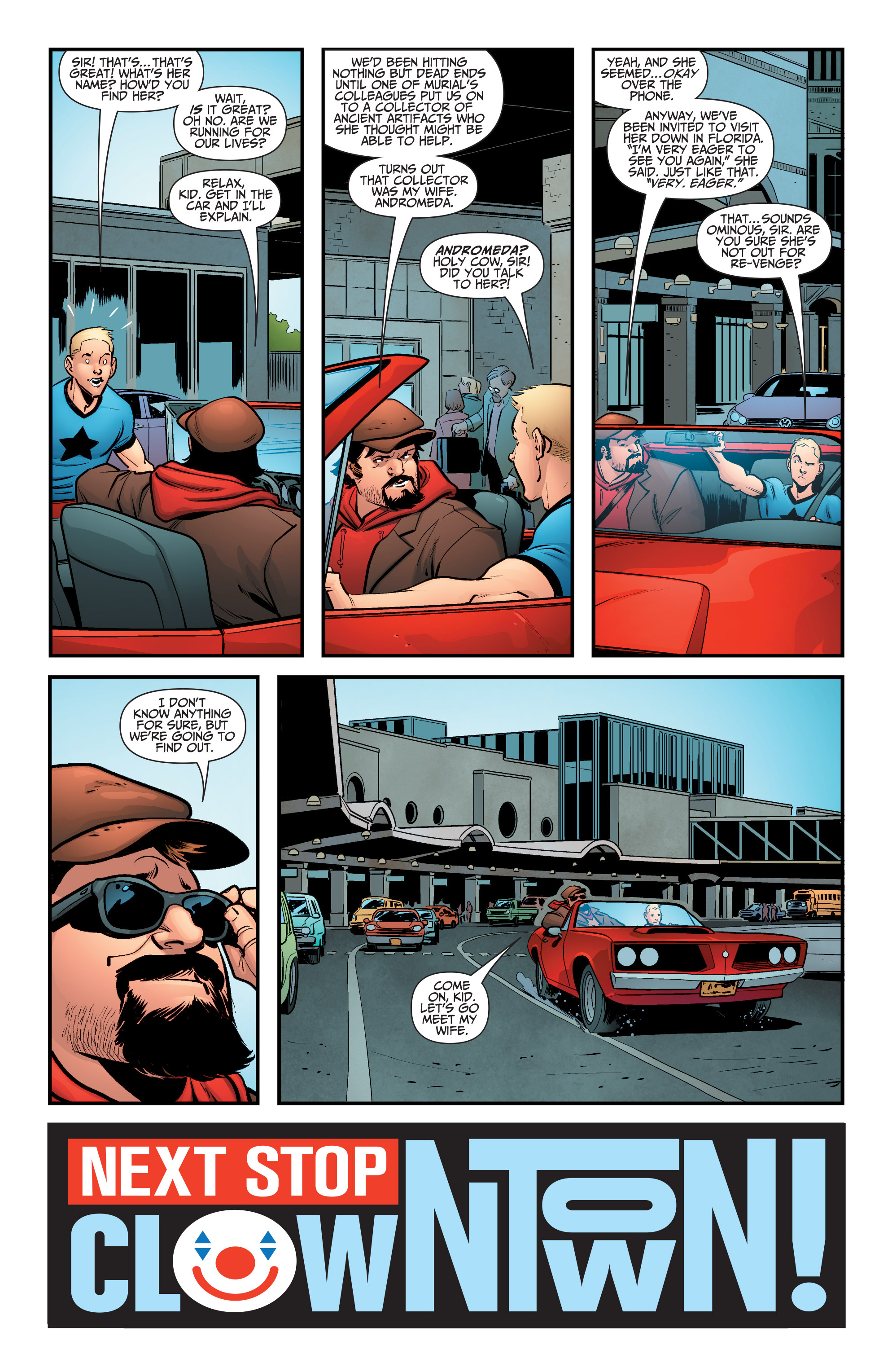 Read online A&A: The Adventures of Archer & Armstrong comic -  Issue #5 - 23