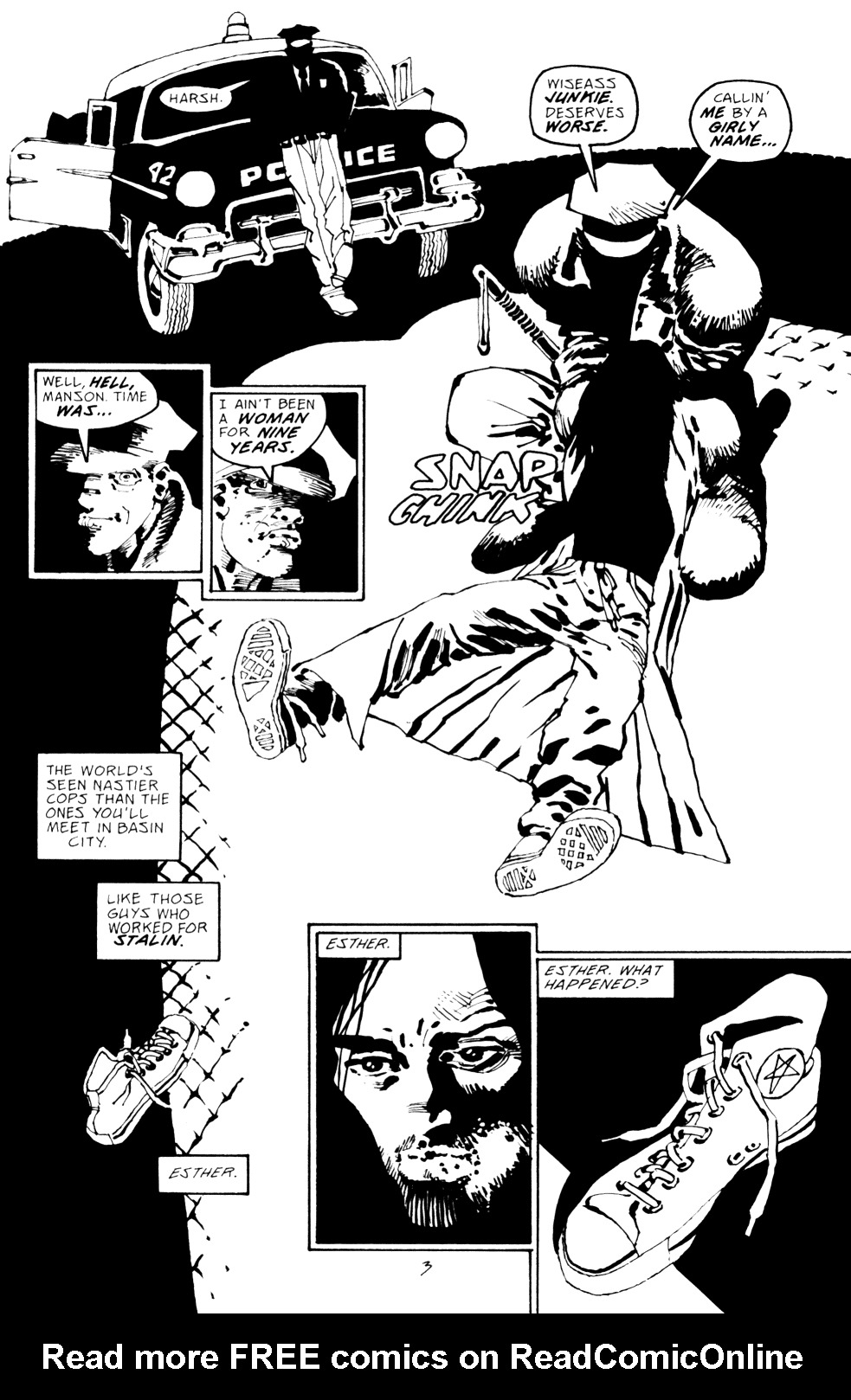 Read online Sin City: Hell and Back comic -  Issue #2 - 4