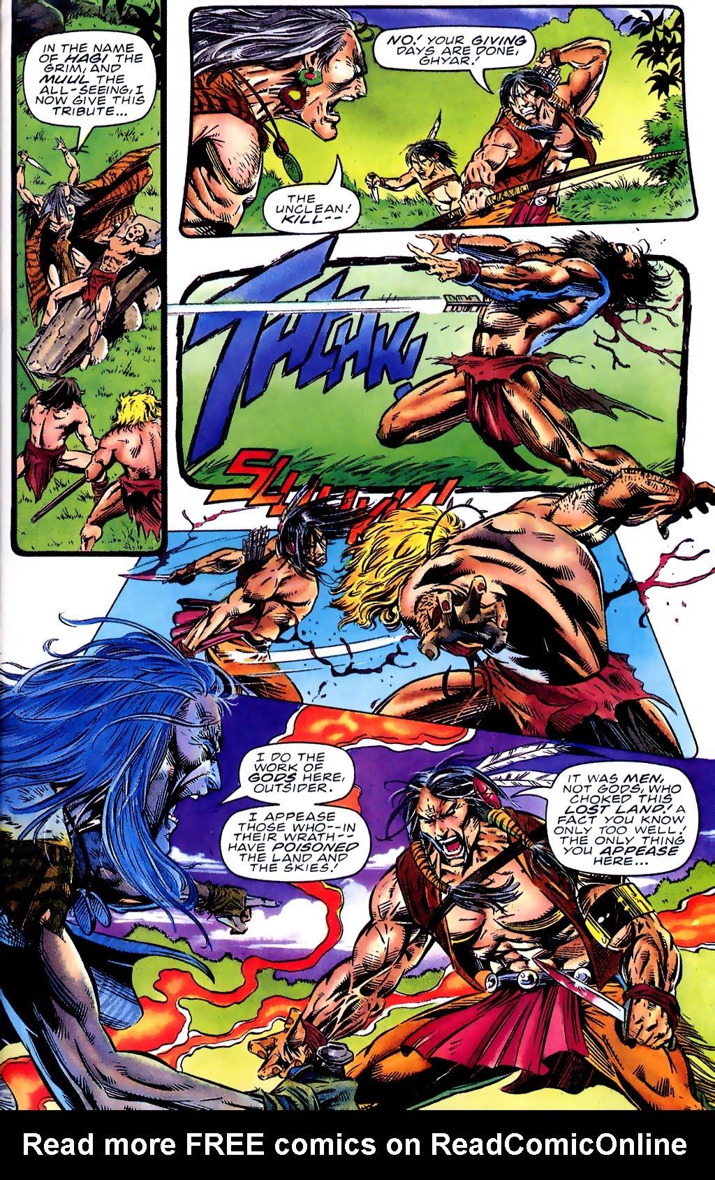 Read online Turok, Dinosaur Hunter (1993) comic -  Issue #41 - 12