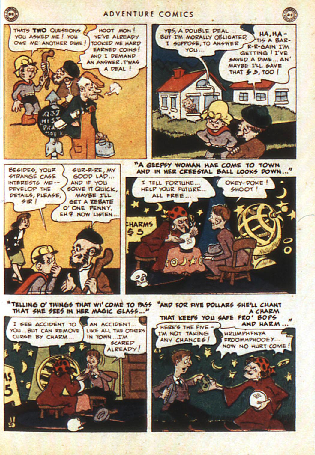 Read online Adventure Comics (1938) comic -  Issue #92 - 13