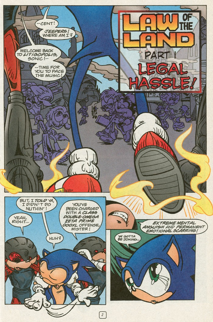 Read online Sonic Super Special comic -  Issue #14 - best of times - 4