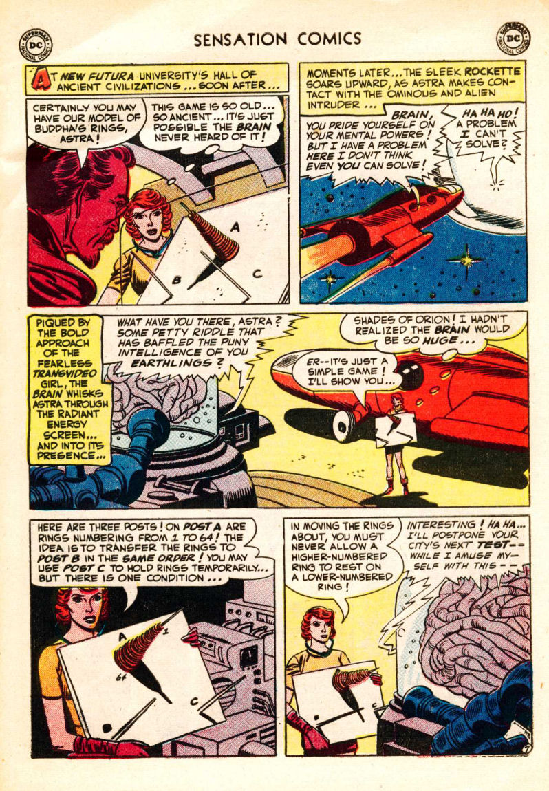Read online Sensation (Mystery) Comics comic -  Issue #106 - 31