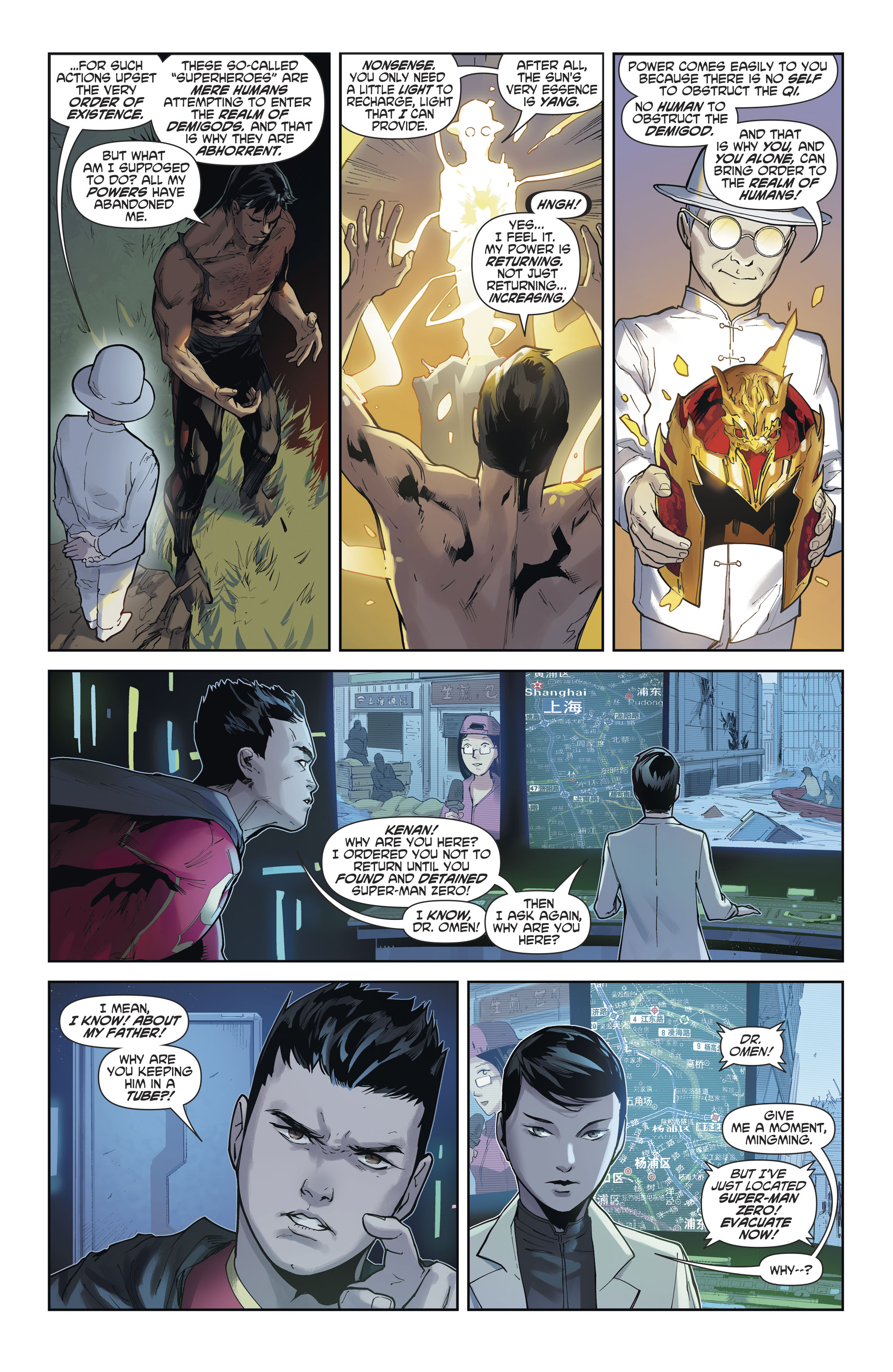 Read online New Super-Man comic -  Issue #12 - 20