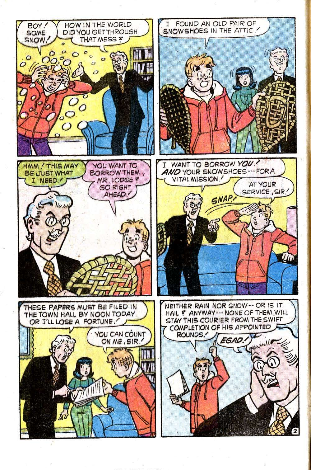 Read online Archie (1960) comic -  Issue #243 - 4