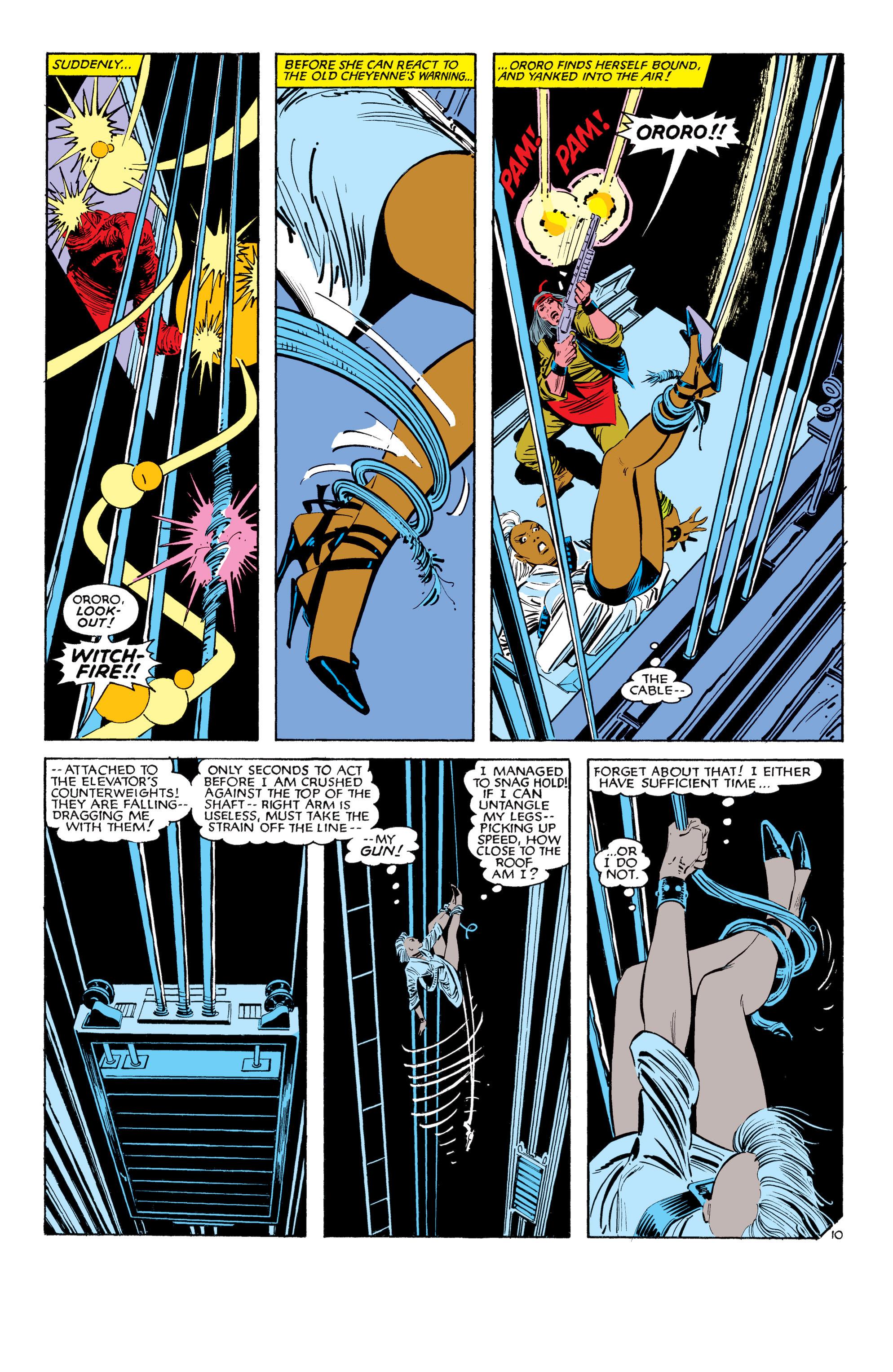 Read online Uncanny X-Men (1963) comic -  Issue #187 - 11