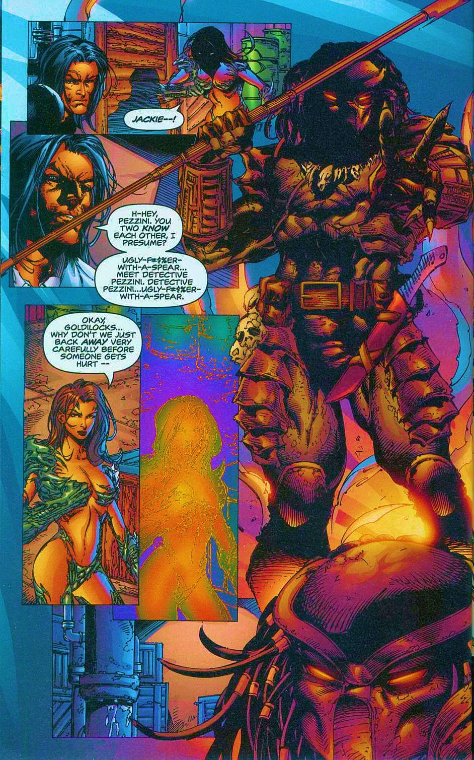 Read online Overkill: Witchblade/Aliens/Darkness/Predator comic -  Issue #2 - 9