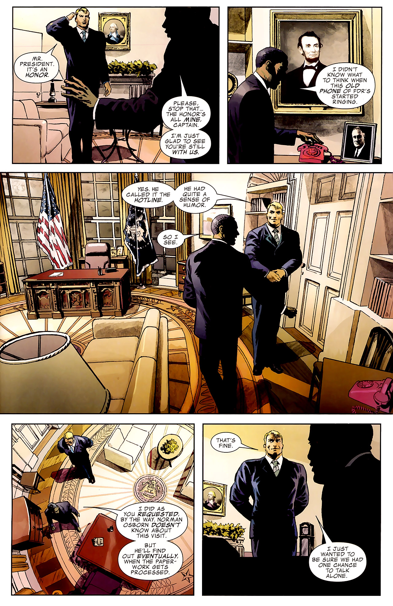 Read online Captain America Reborn: Who Will Wield the Shield? comic -  Issue # Full - 26