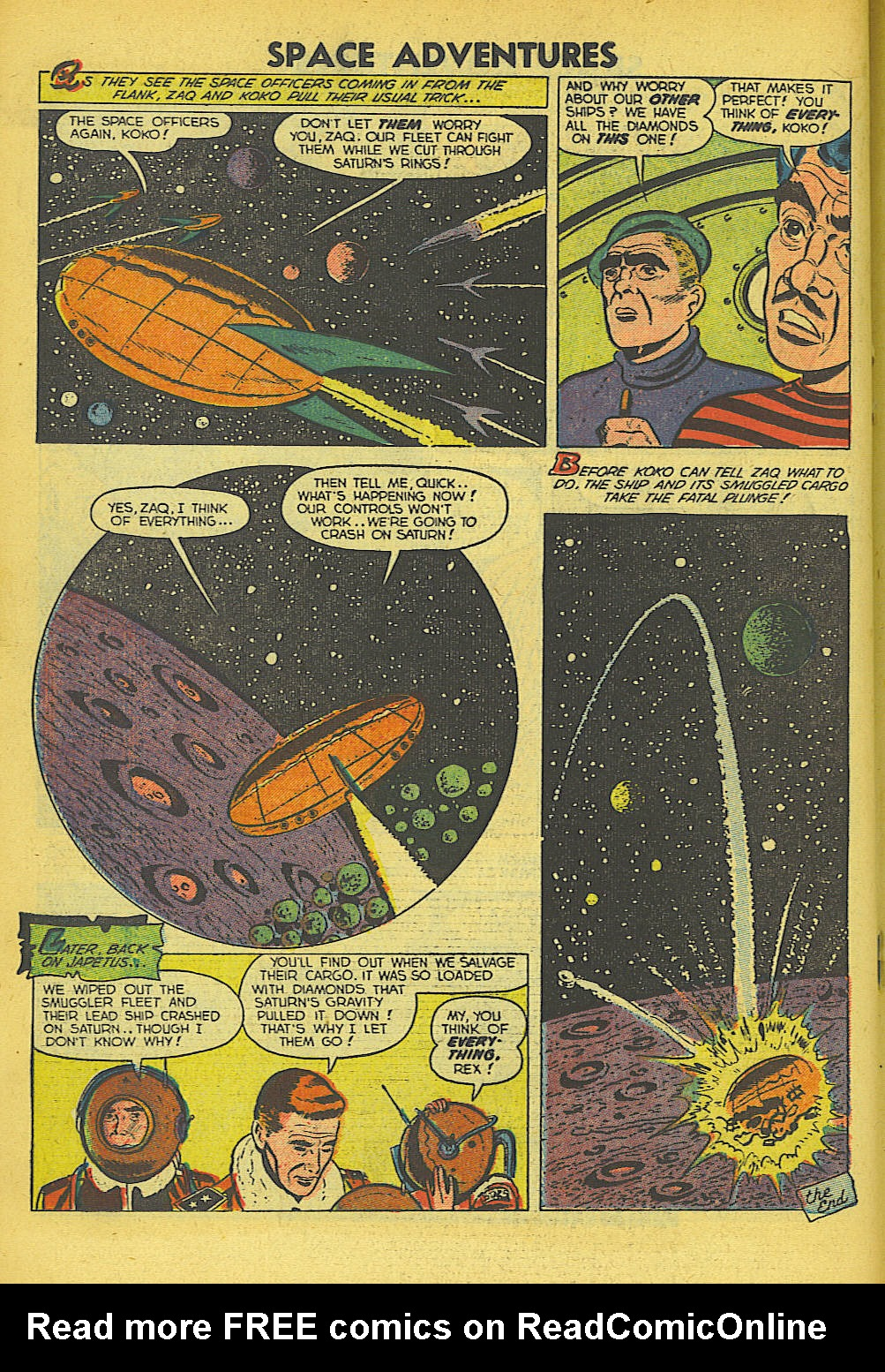 Read online Space Adventures comic -  Issue #5 - 17