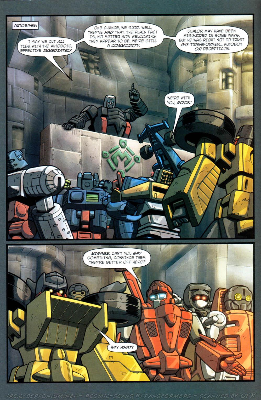 Read online Transformers Armada comic -  Issue #12 - 14