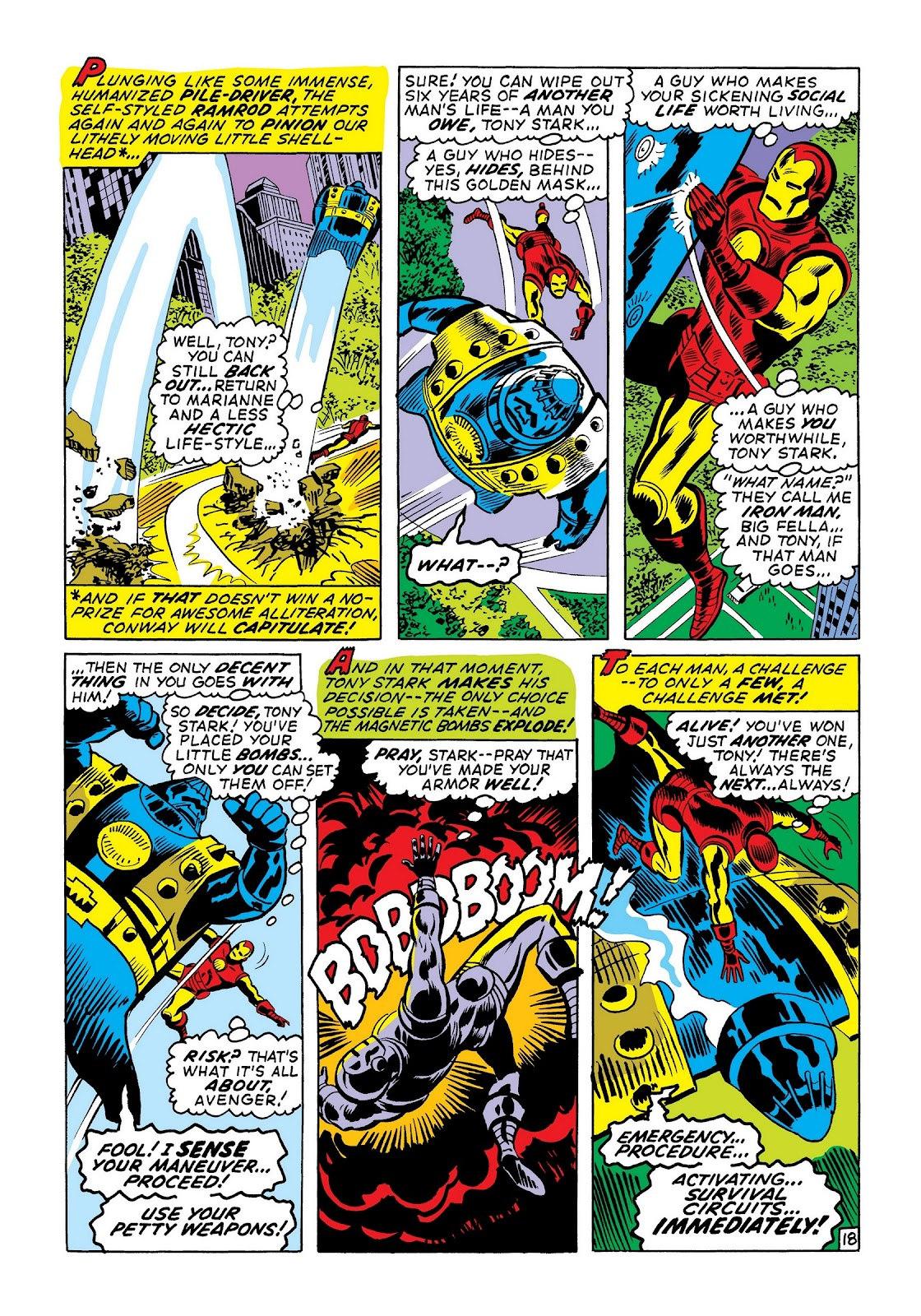 Read online Marvel Masterworks: The Invincible Iron Man comic -  Issue # TPB 7 (Part 3) - 46