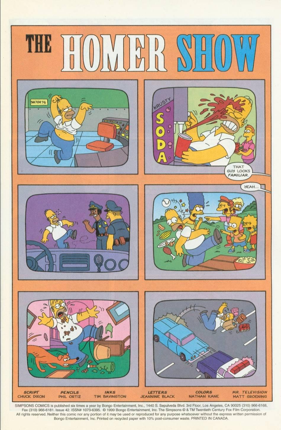 Read online Simpsons Comics comic -  Issue #42 - 2