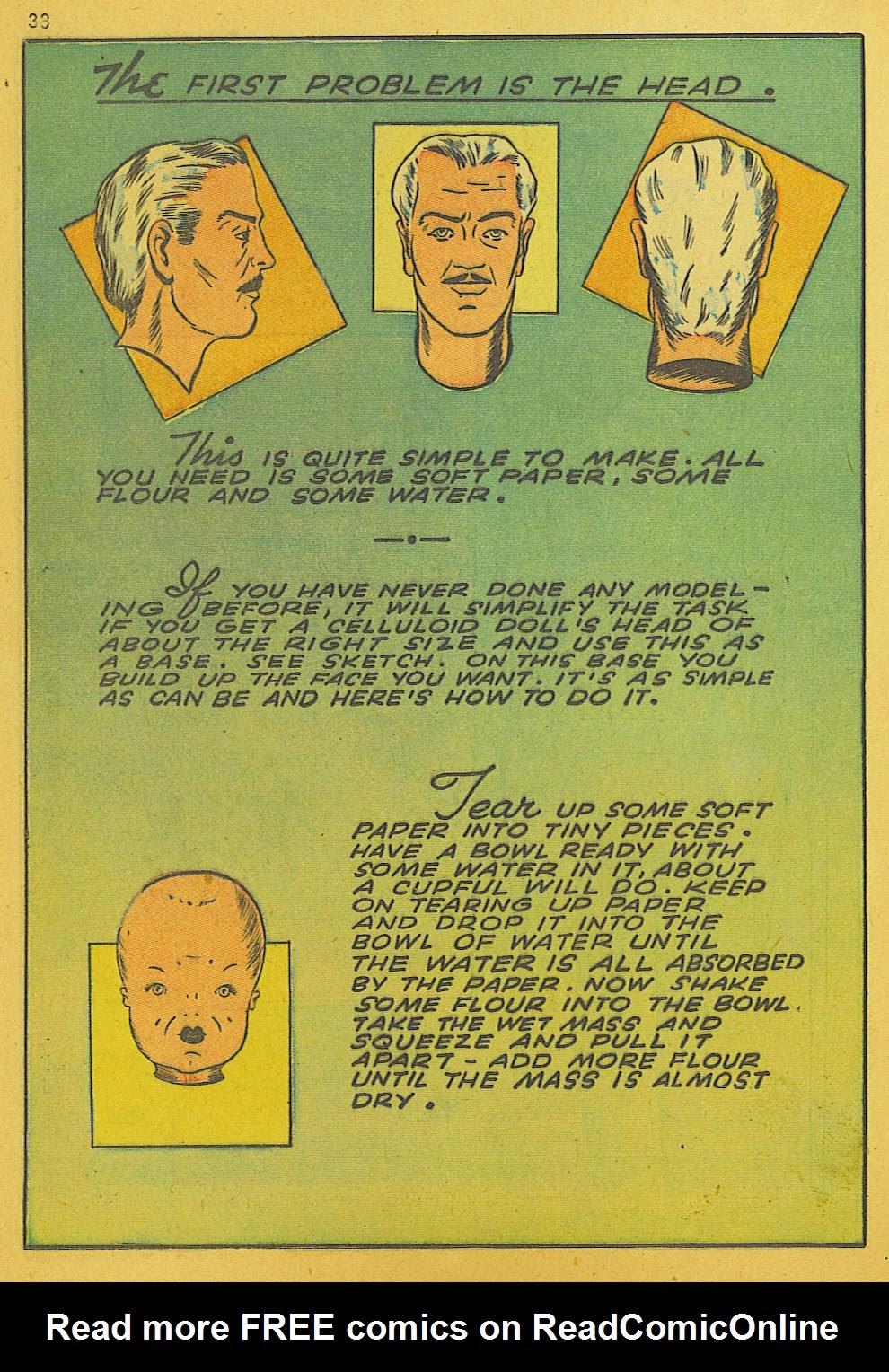 Read online Super-Magician Comics comic -  Issue #10 - 38