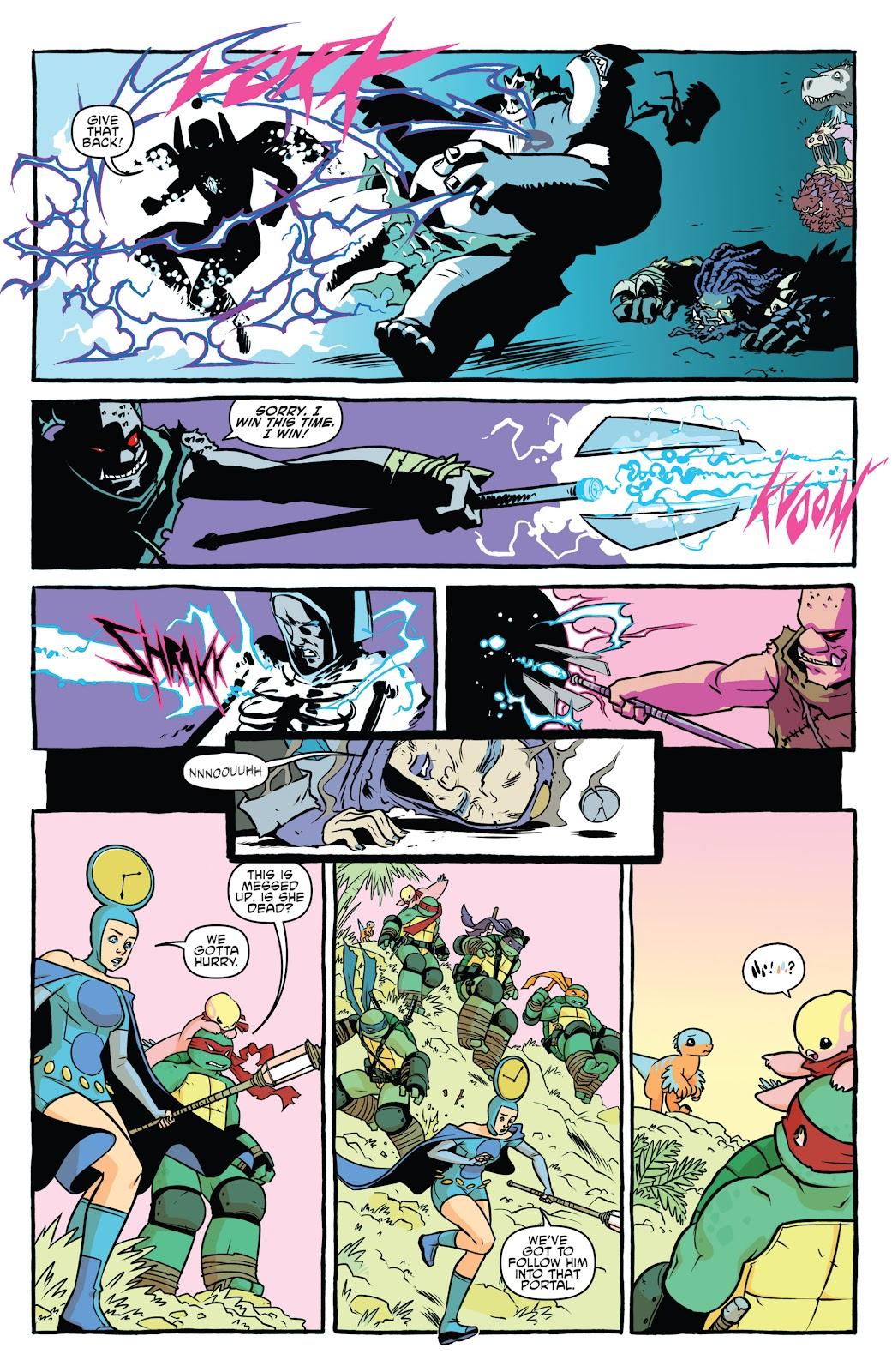 Comic Teenage Mutant Ninja Turtles Bebop & Rocksteady Destroy