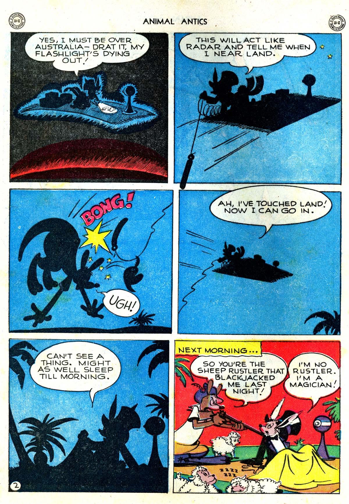 Read online Animal Antics comic -  Issue #5 - 4