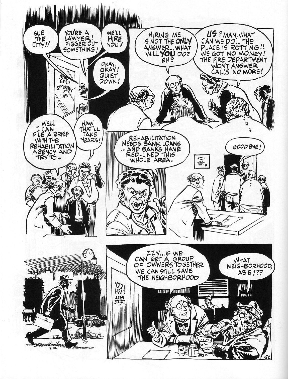 Read online Dropsie Avenue, The Neighborhood comic -  Issue # Full - 154