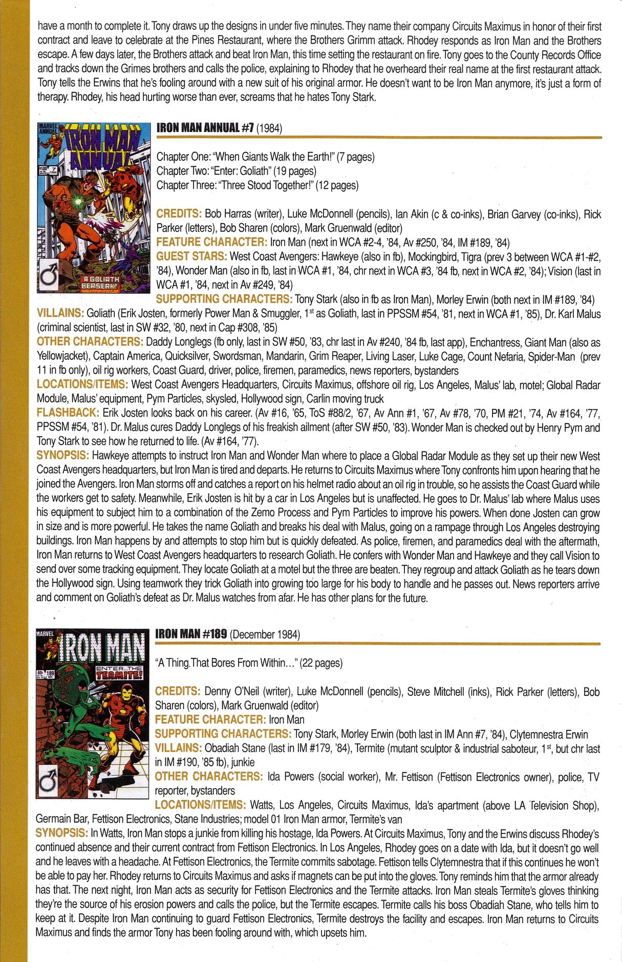 Read online Official Index to the Marvel Universe comic -  Issue #6 - 32