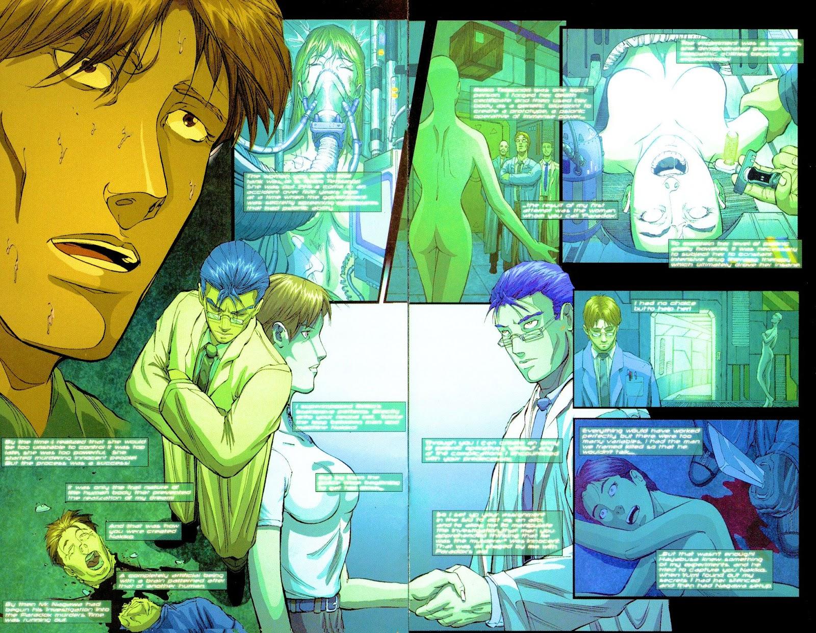 Darkminds (1998) Issue #8 #9 - English 19