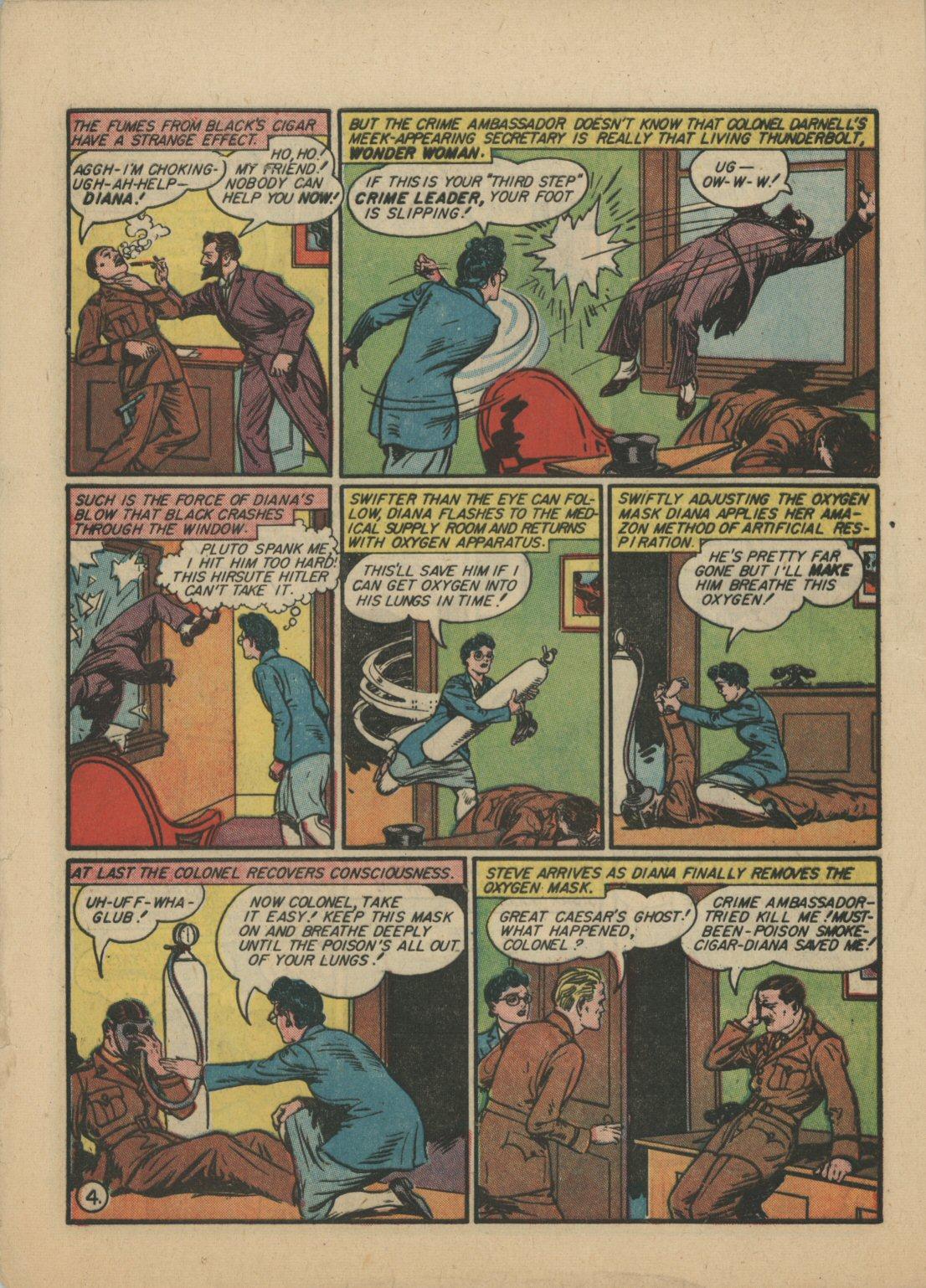 Read online Sensation (Mystery) Comics comic -  Issue #21 - 5