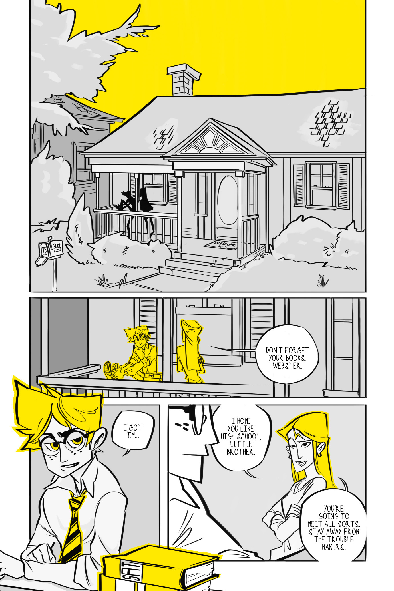 Read online BUZZ! comic -  Issue # TPB - 9
