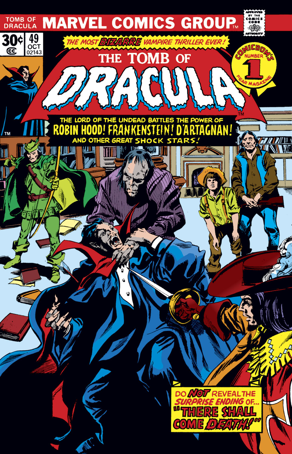 Tomb of Dracula (1972) issue 49 - Page 1
