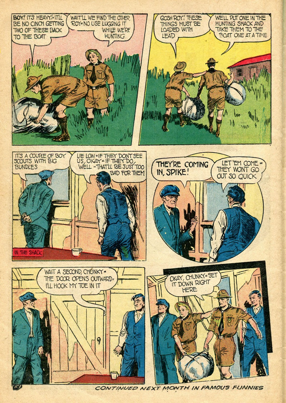 Read online Famous Funnies comic -  Issue #110 - 46