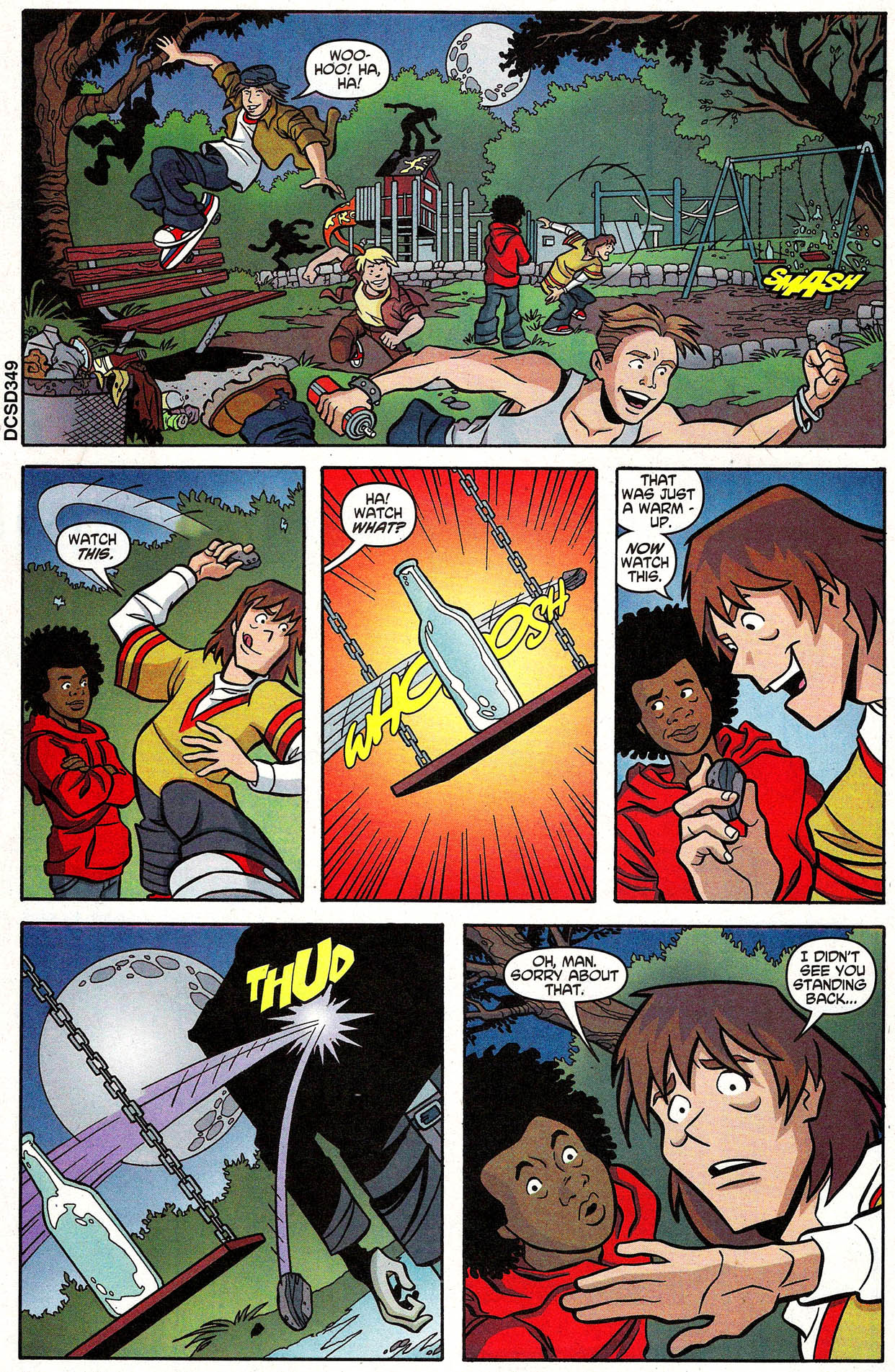 Read online Scooby-Doo (1997) comic -  Issue #105 - 7