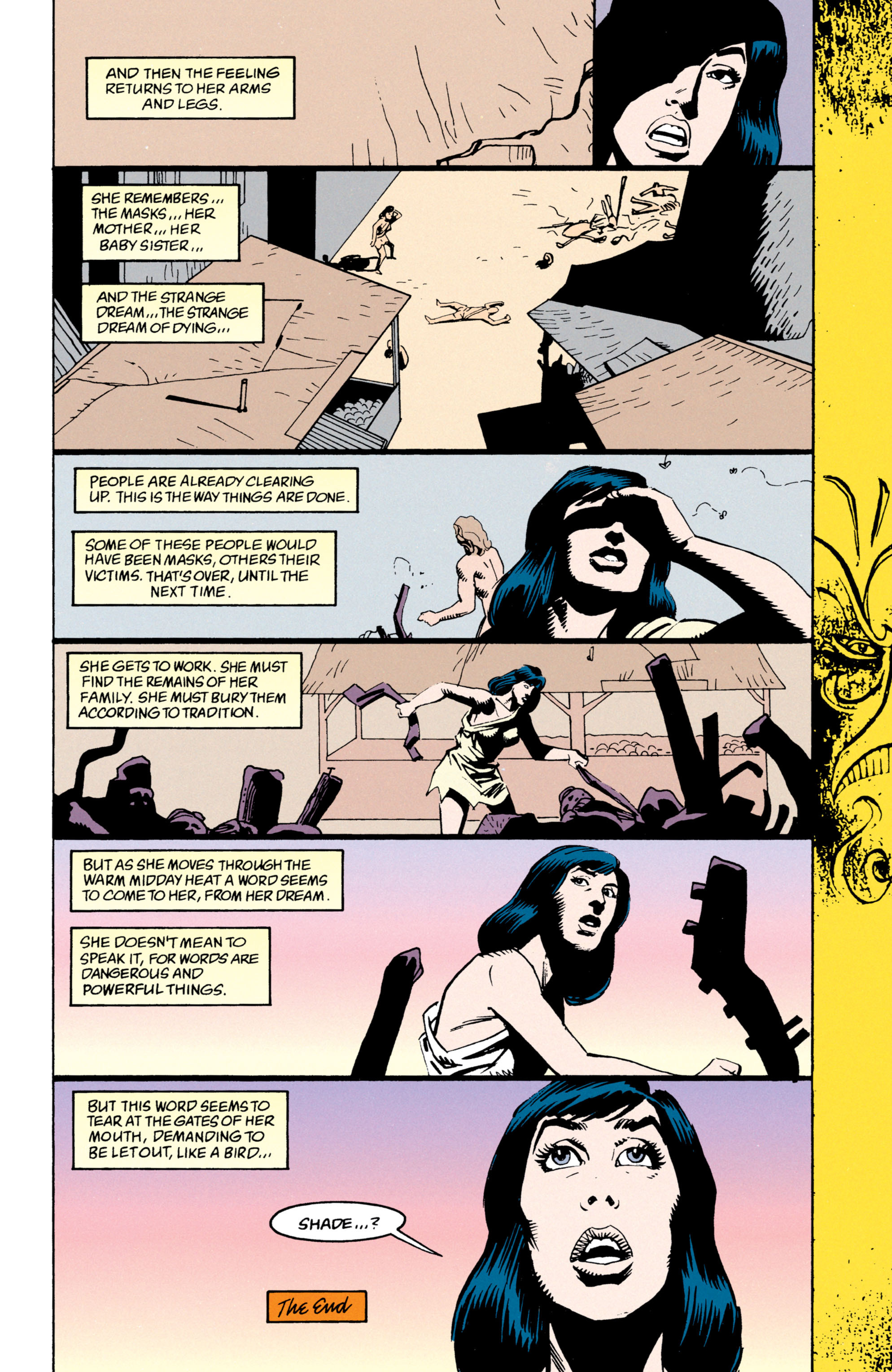 Read online Shade, the Changing Man comic -  Issue #53 - 25
