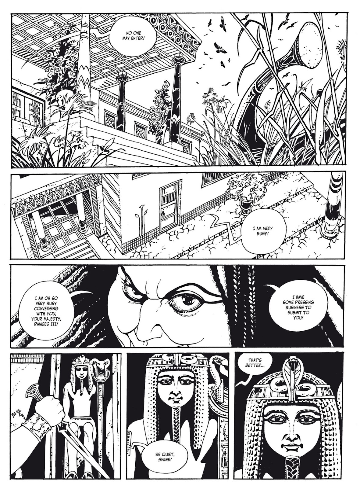 Read online The Egyptian Princesses comic -  Issue # TPB 1 (Part 1) - 30