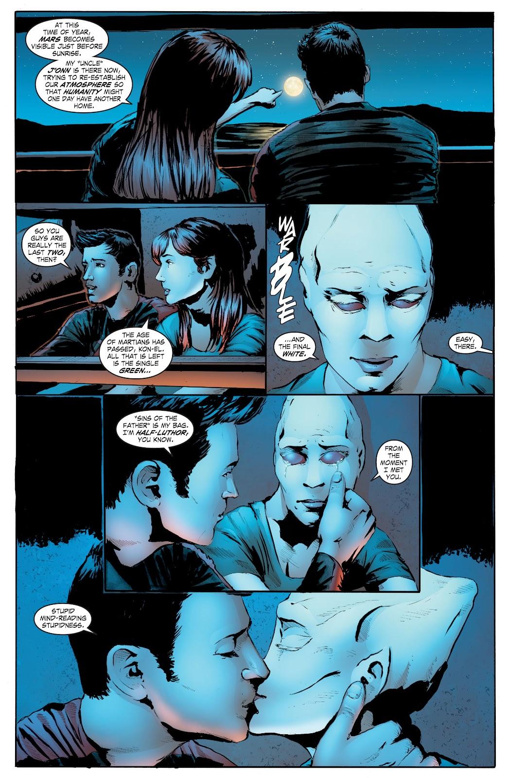Read online Smallville Season 11 [II] comic -  Issue # TPB 7 - 151