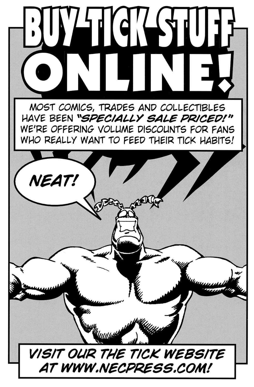 Read online The Tick comic -  Issue #100 - 49