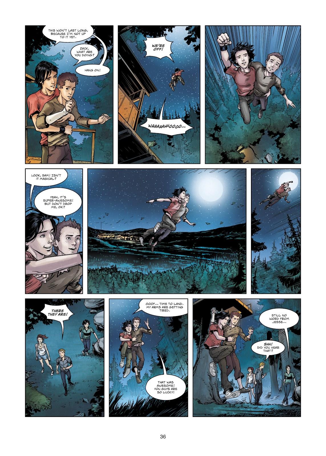 Read online Vigilantes comic -  Issue #2 - 36